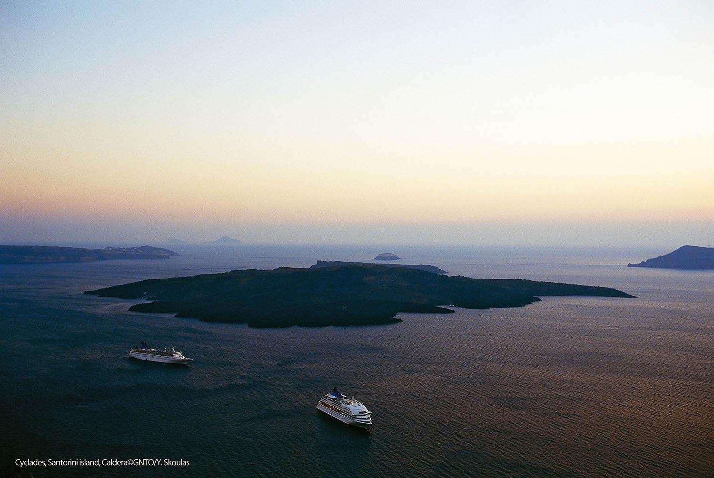 voyage îles grecques Mykonos Paros Naxos Santorin 15 jrs 14 nts