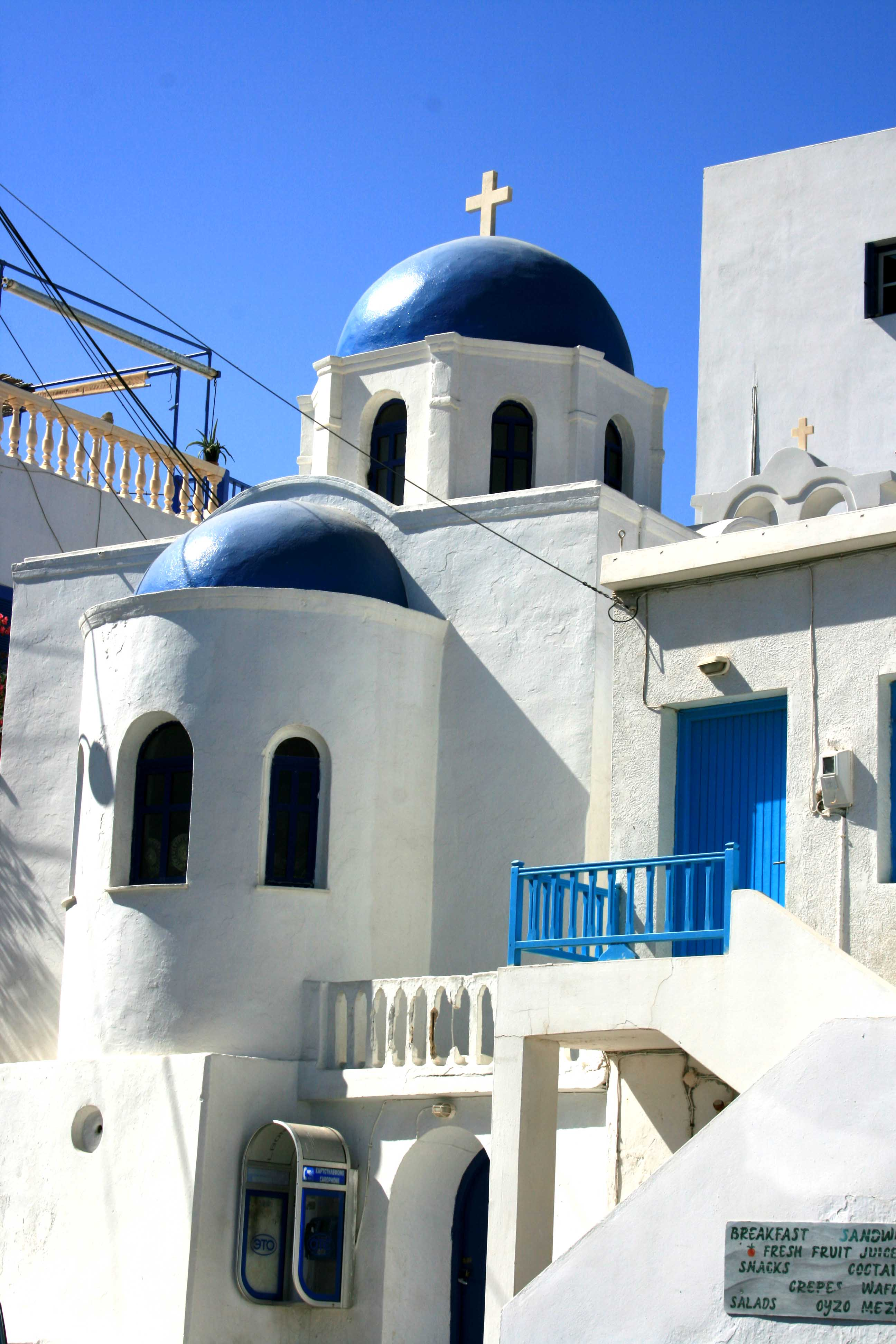 amorgos village chora