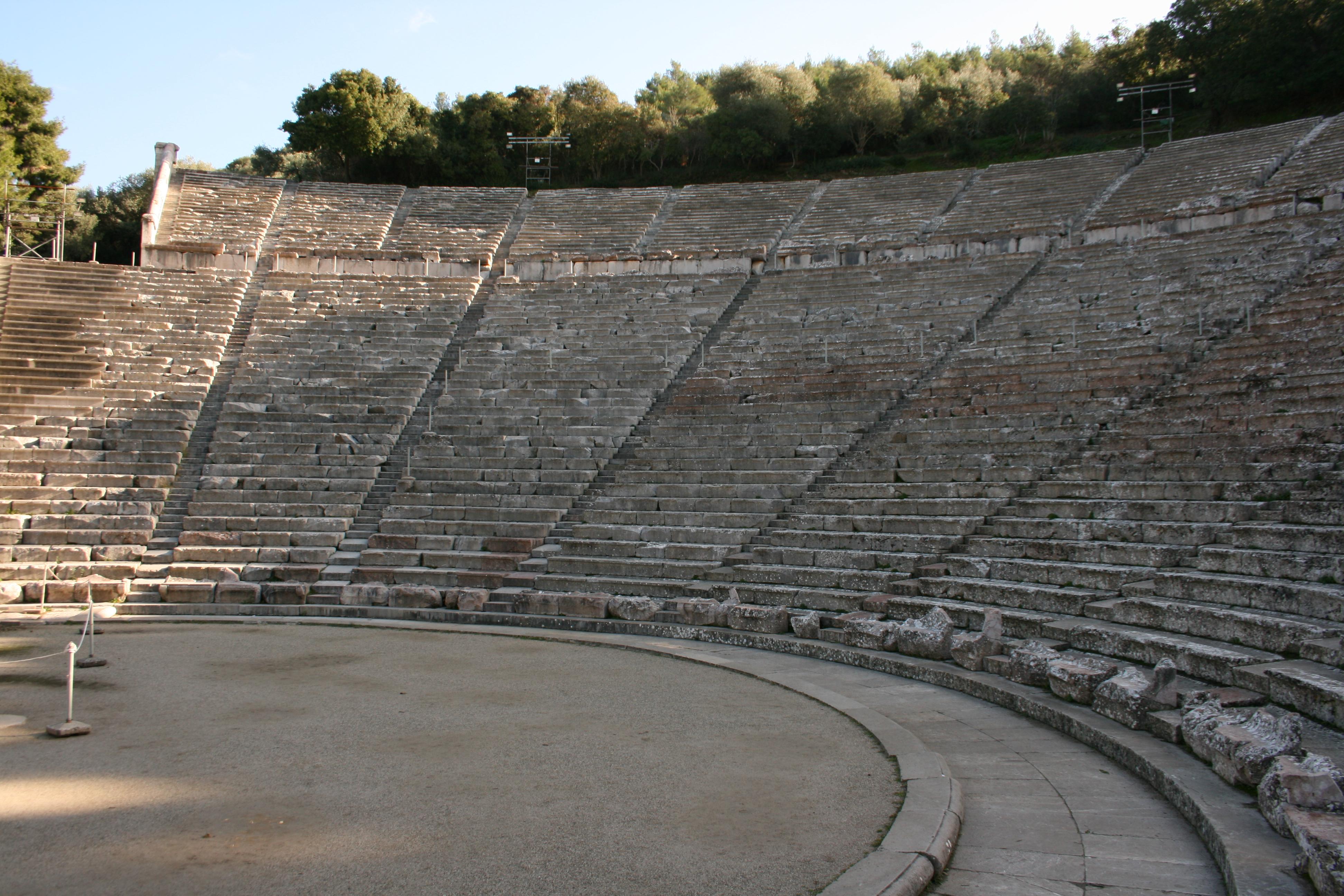 theatre epidaure Argolide grece