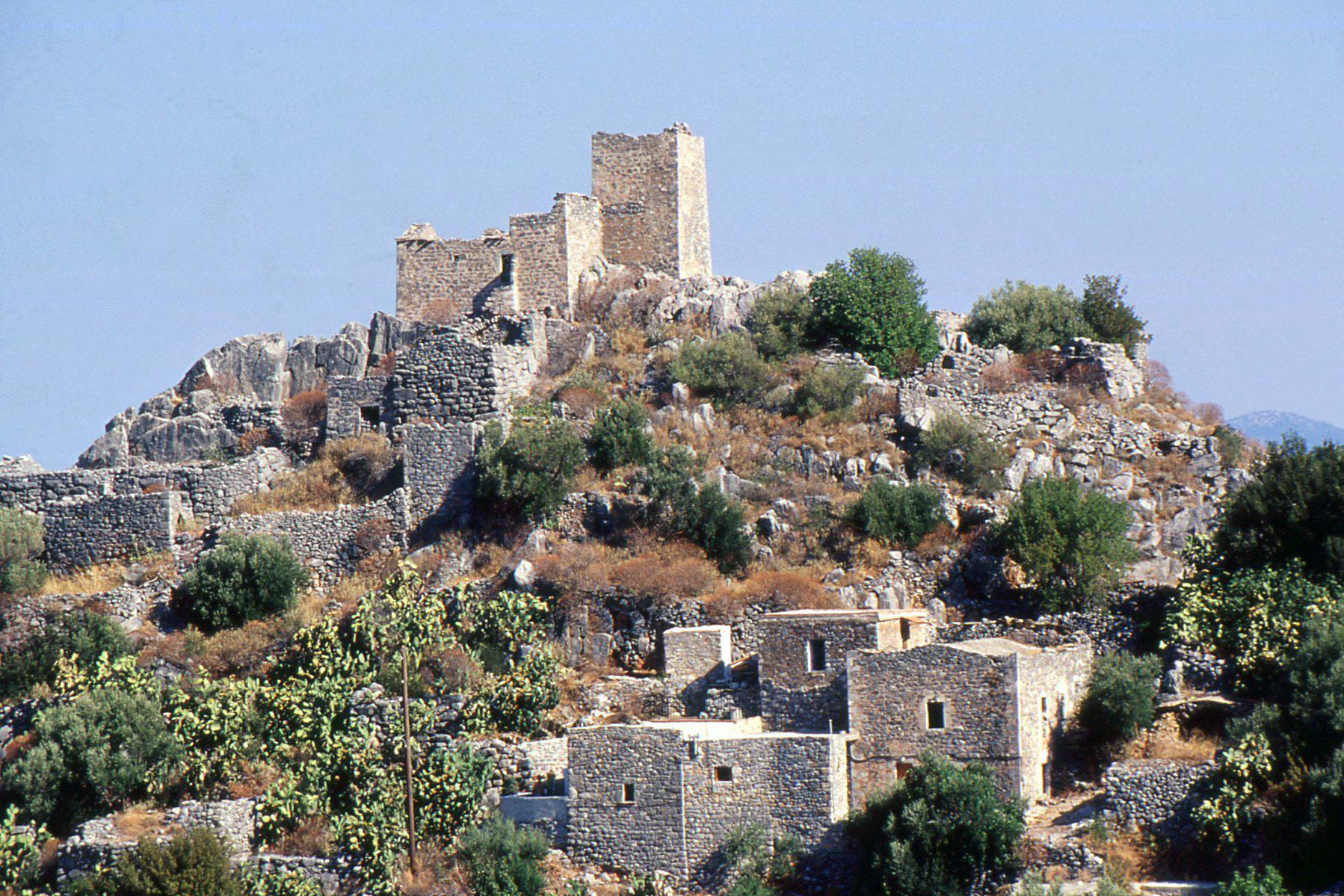 village du magne Vathi Péloponnèse Grèce