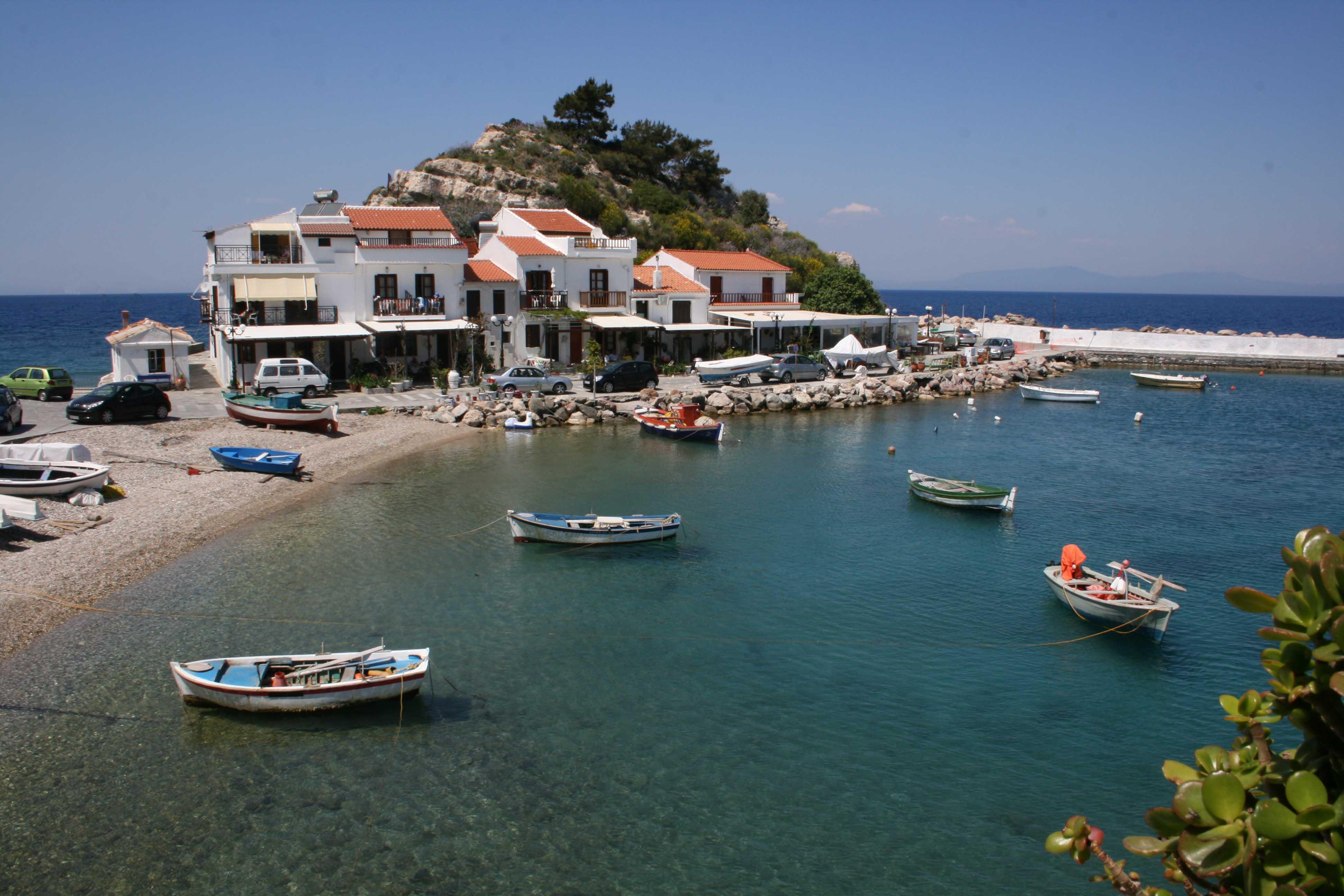 village kokkari samos grece