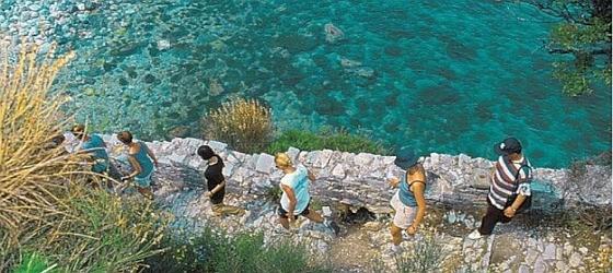 randonnée à Mykonos