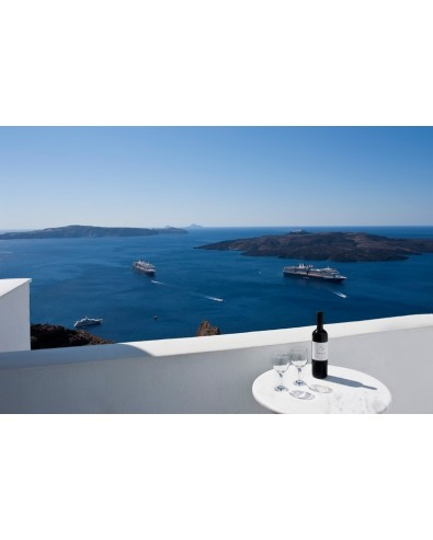 Voyage Grèce séjour ile grecque Santorin Hôtel Tzekos