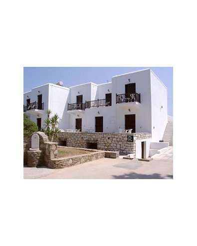 Voyage Grece Séjour Ile de Paros Hôtel Contarados Beach