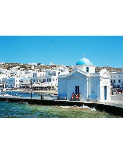 Circuit iles grecques 15 jours 14 nuits Athènes Mykonos Paros Naxos Athènes