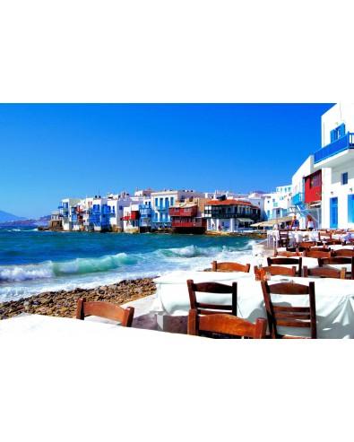 Voyage Iles grecques Athènes Mykonos Naxos 8 jrs 7 nts