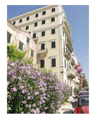Voyage séjour île grecque ionienne Corfou Hôtel Cavalieri