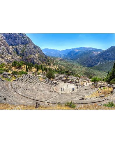 Circuit depuis Athènes visite site Delphes et musée 1jour