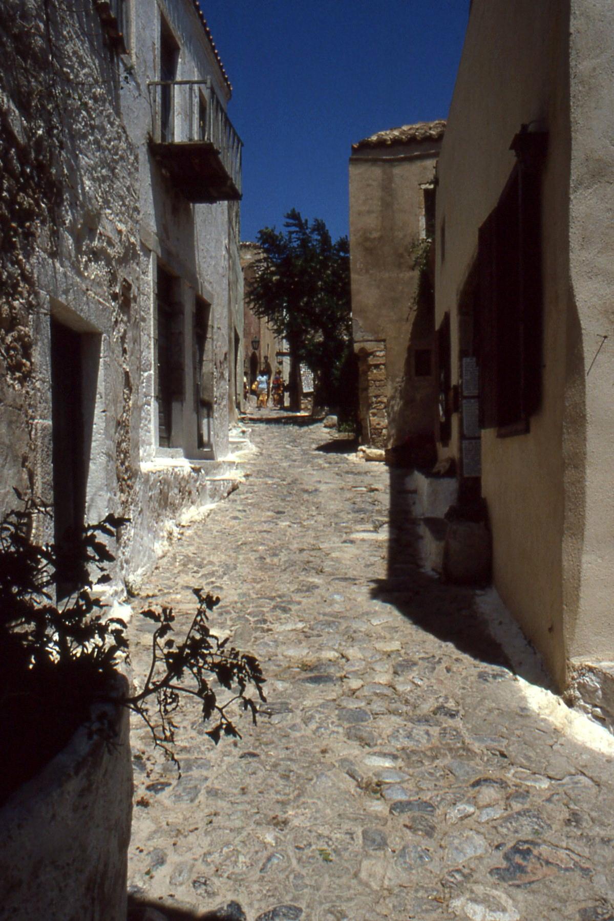 ruelle monemvasia Peloponnese sud Grece