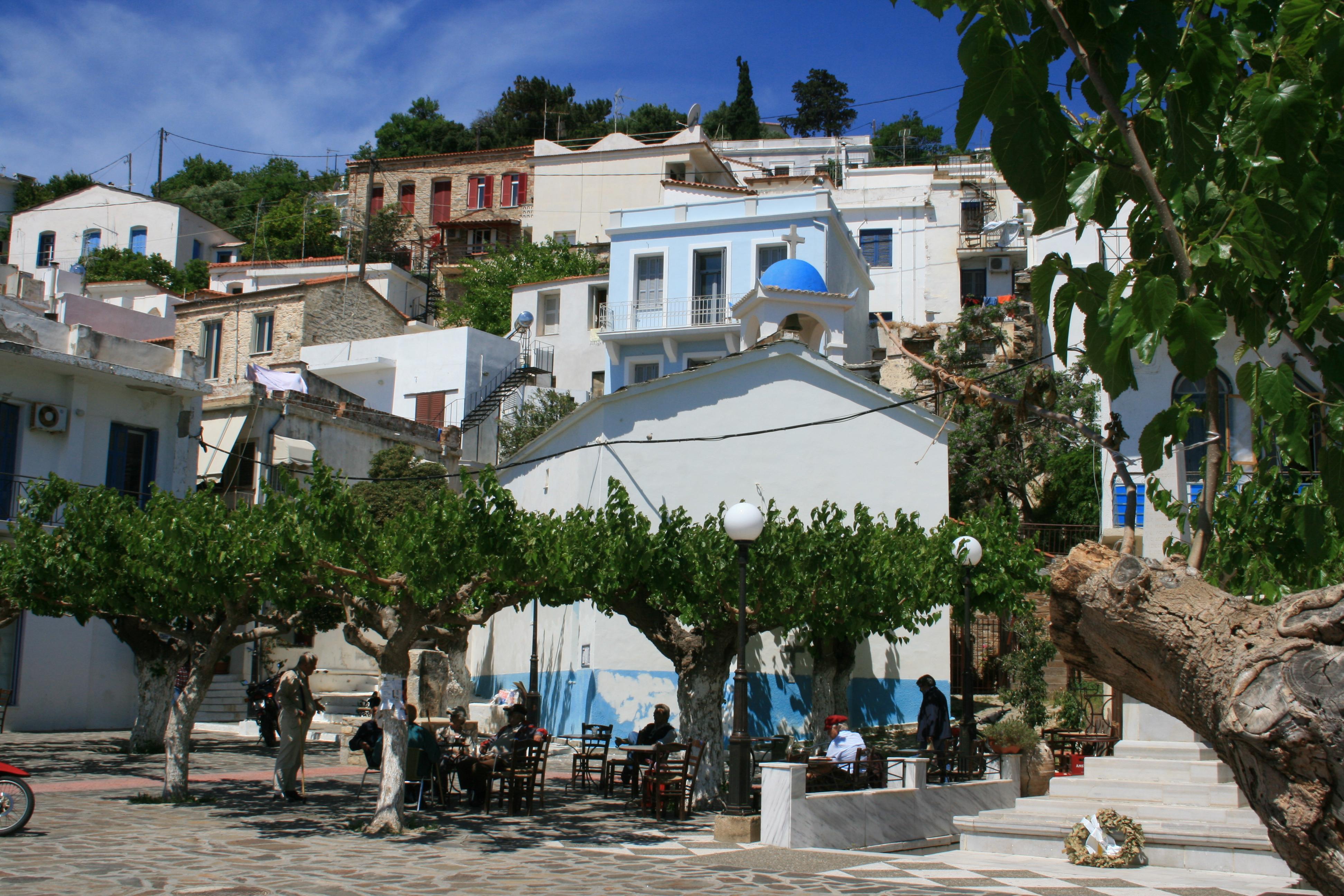 port agios kirikos capitale ikaria grede