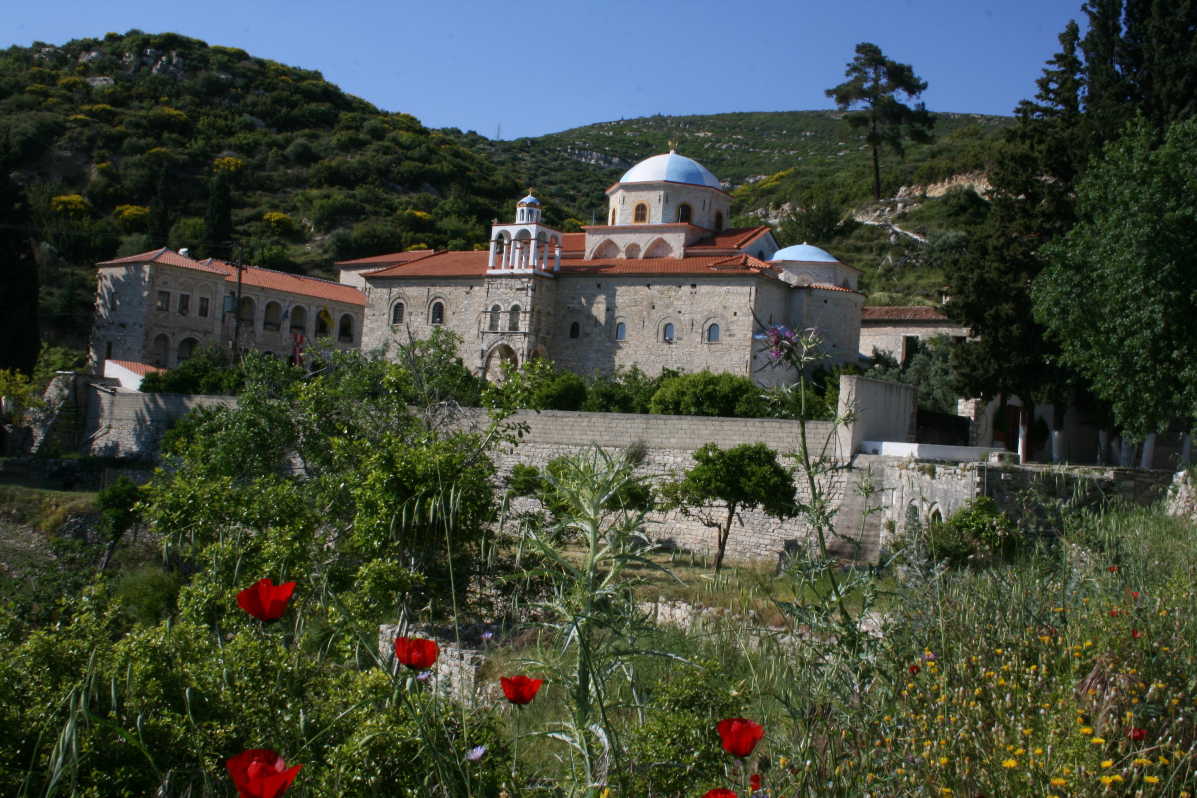 monastère zoodochos pigi île de Samos grece