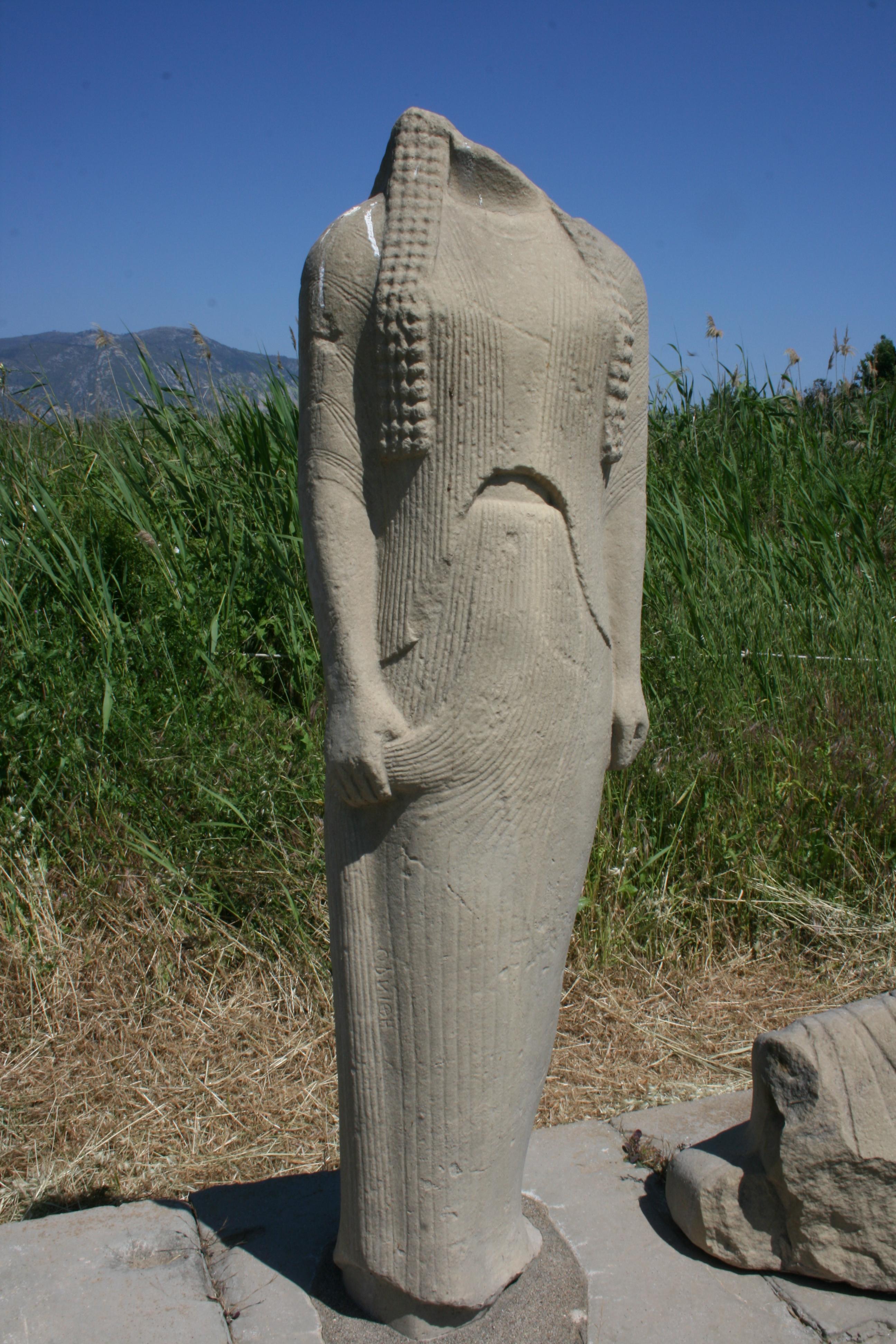 site archéologique Herion ile de Samos grece