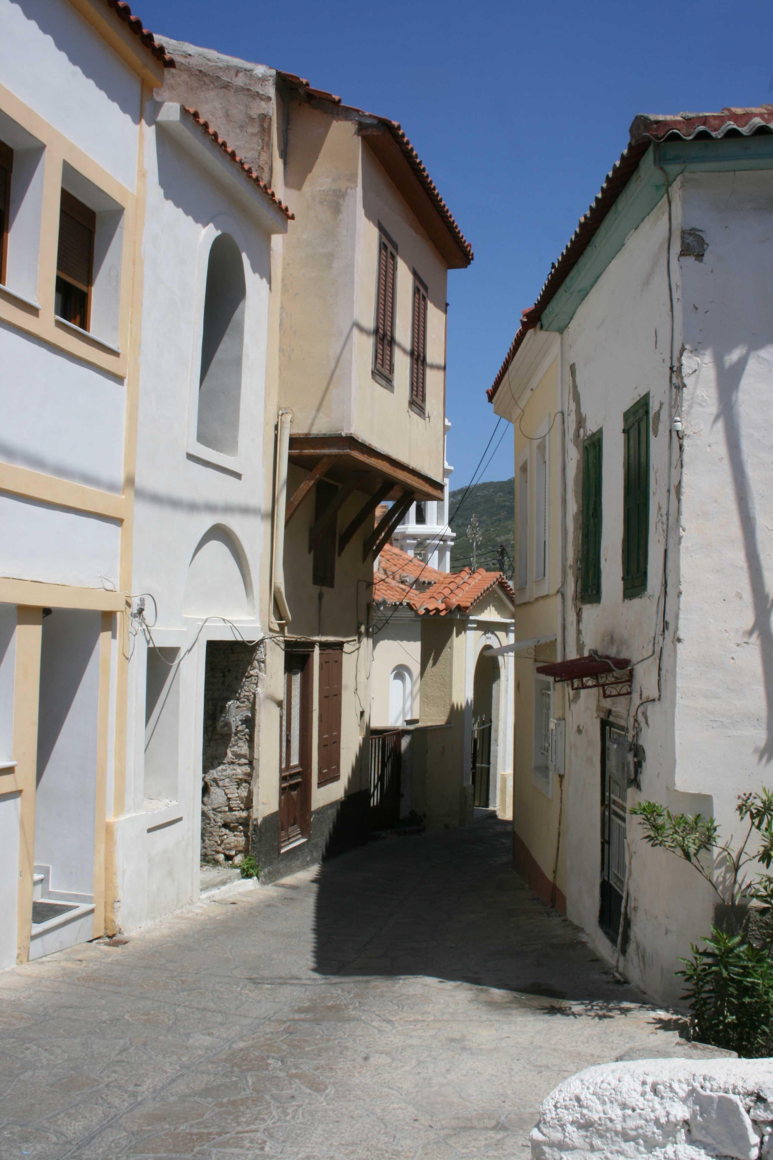 village ano vathi île de samos grece