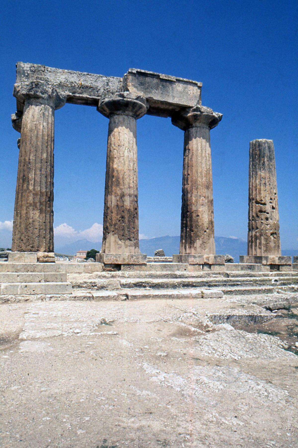 site archéologique de Corinthe argolide grece