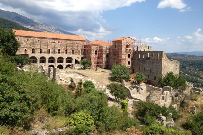 forteresse byzantine mystra Grece