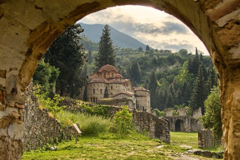 ville byzantine mystra Grece