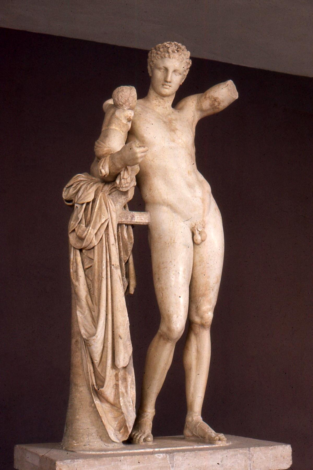 musée olympie hermes de praxitele Grece