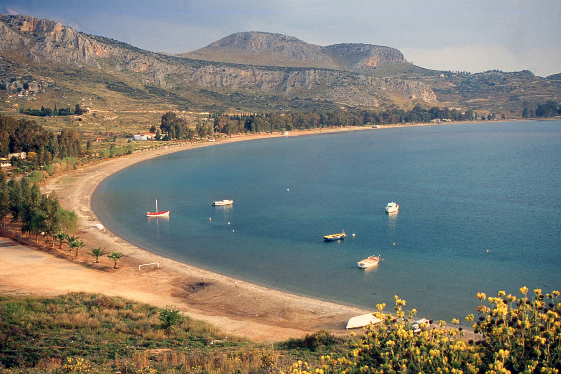 plage de Karathona prsè de Nauplie argolide grece