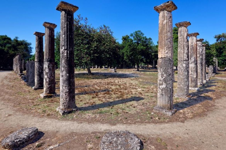 site archeologique olympie peloponnèse grece