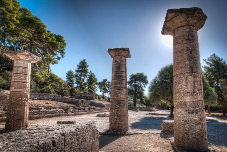 site archéologique olympie peloponnèse Grece